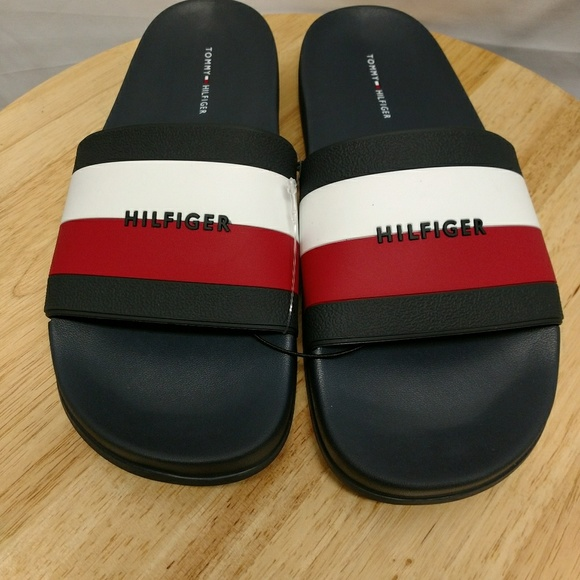 11 new with tags Tommy Hilfiger Men Summer Rubber flip flop size 9